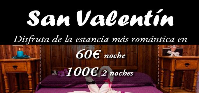 Oferta San Valentín 2018
